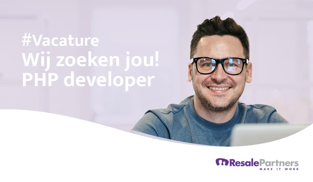 Vacature: PHP developer