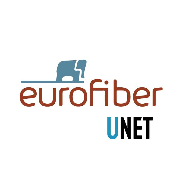 Eurofiber Unet logo